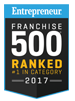 2017 Entrepreneur Franchise 500 Badge